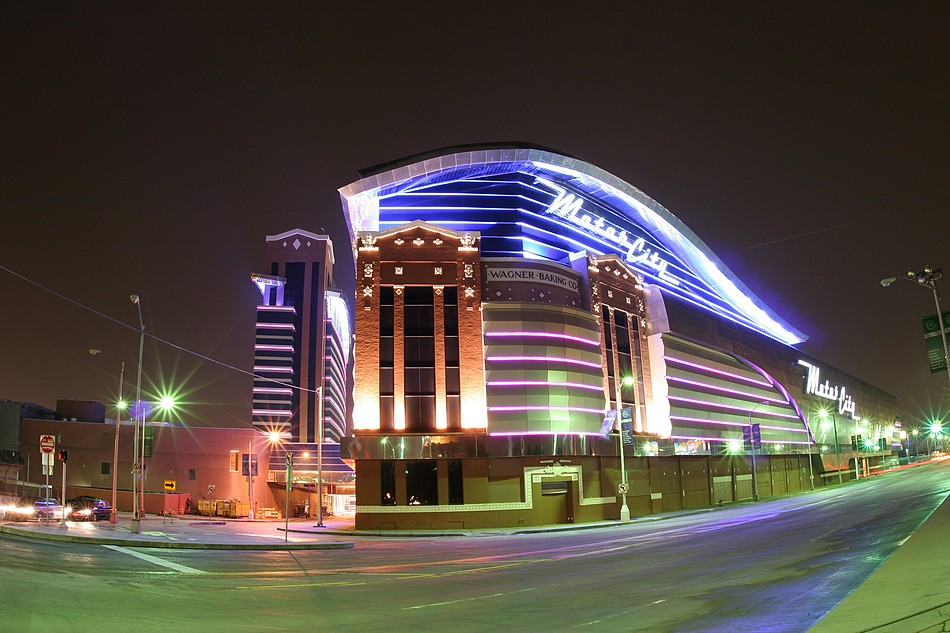 Riverside group architectural building products for Motor city hotel casino